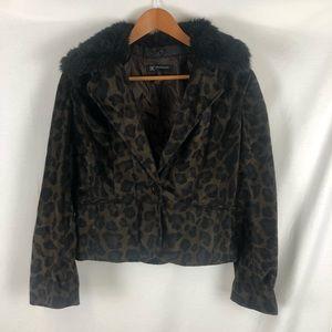 I.N.C | Cheetah print jacket